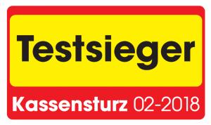 Testsieger Kassensturz 02/2018